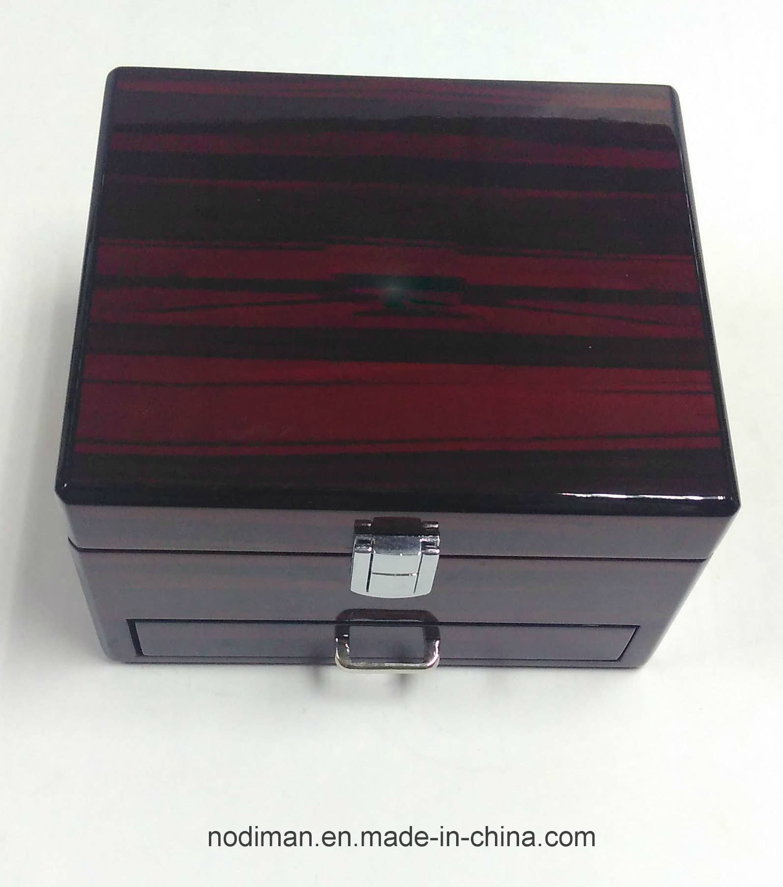 High Glossy Watch Drawer Wooden Box