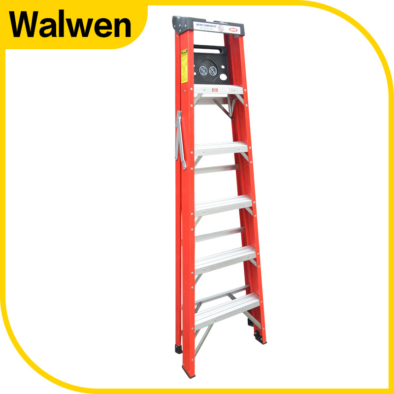 FRP Foldable Ladders and Step Ladders with Unilateral Tray