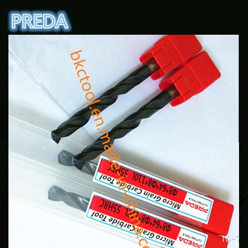 CNC HRC55 Carbide Internal Coolant Drills Power Supply