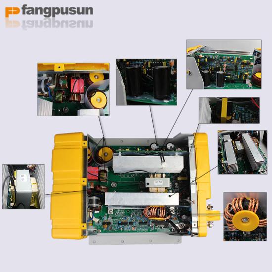 Ce RoHS 1800W True Sine Wave Car Power Inverter DC/AC Solar Converter