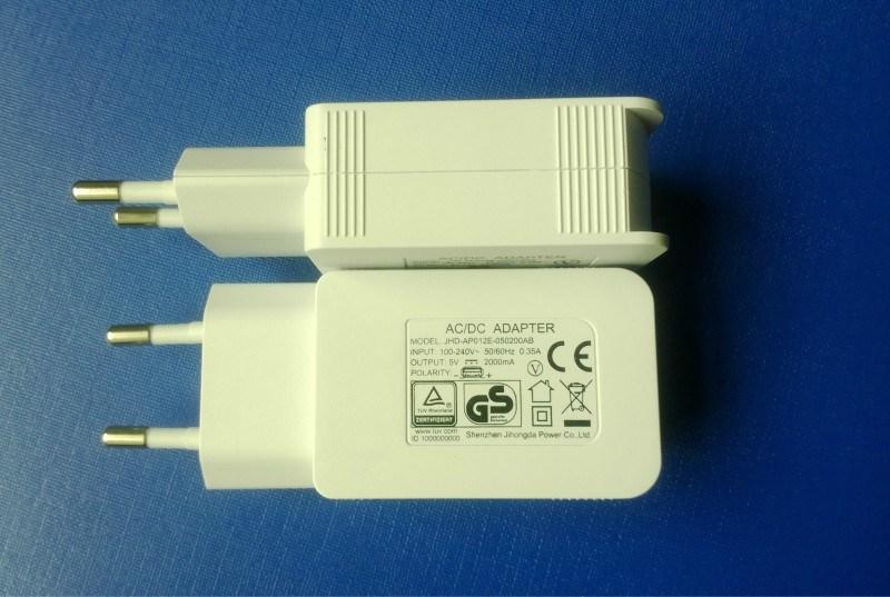 EU Plug 5V2a USB Mobile Phone Charger