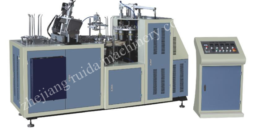 Paper Meal Box Making Machine