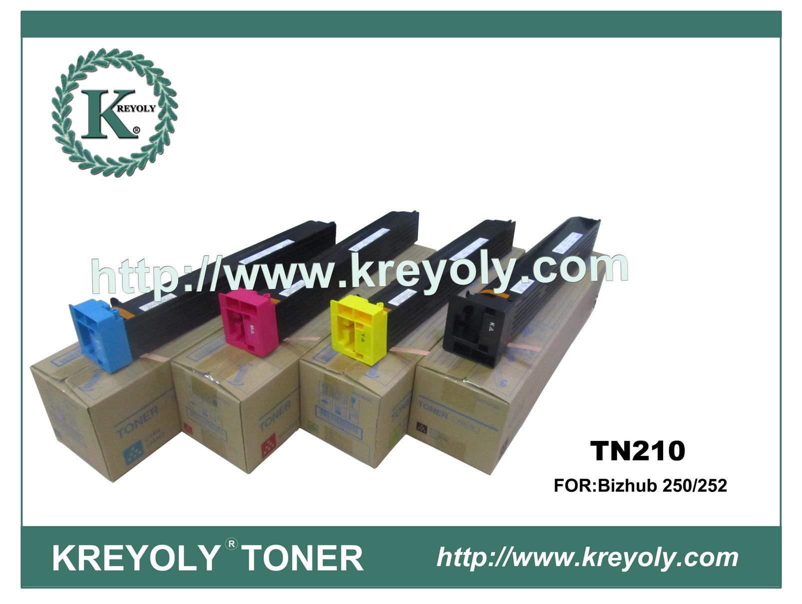 Color Toner Compatible Toner for TN-210