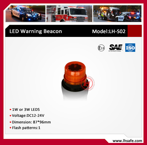 LED Hazard Beacon Light (LH-S02)