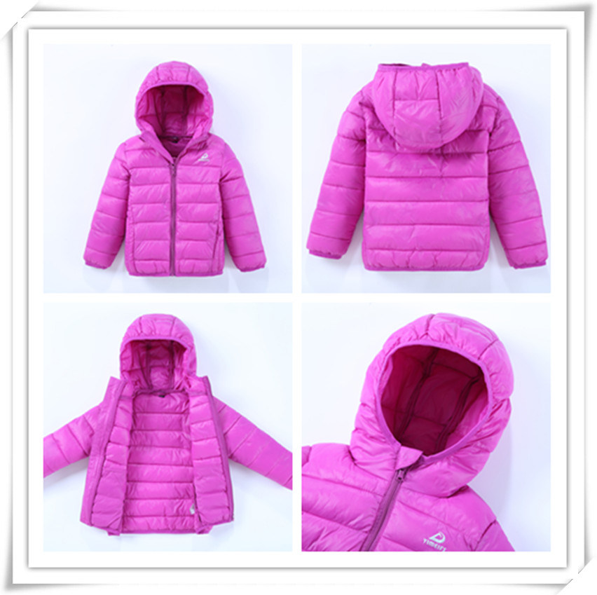 Kid Down Jacket Boy Padded Jacket Children High Quality Colorful Jacket Coat 605