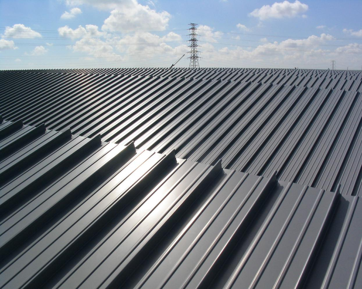 China Aluminium Standing Seam Roof Panel Photos Amp Pictures