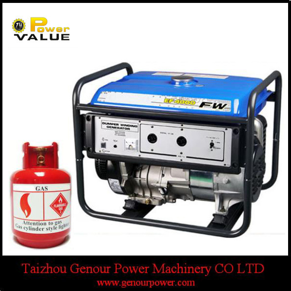 LPG Power China 2.5kw 2.5kVA Power Generator for Household
