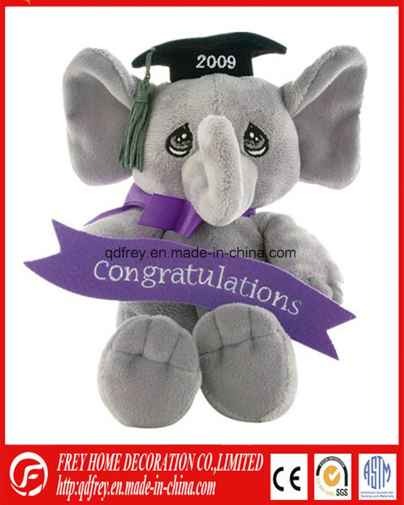 Plush Soft Stuffed Elephant Toy with CE