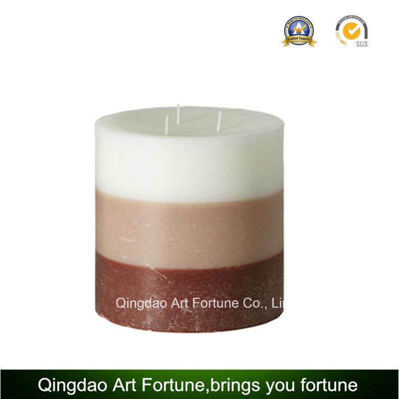Seashell Design Handmade Pillar Candle Supplier