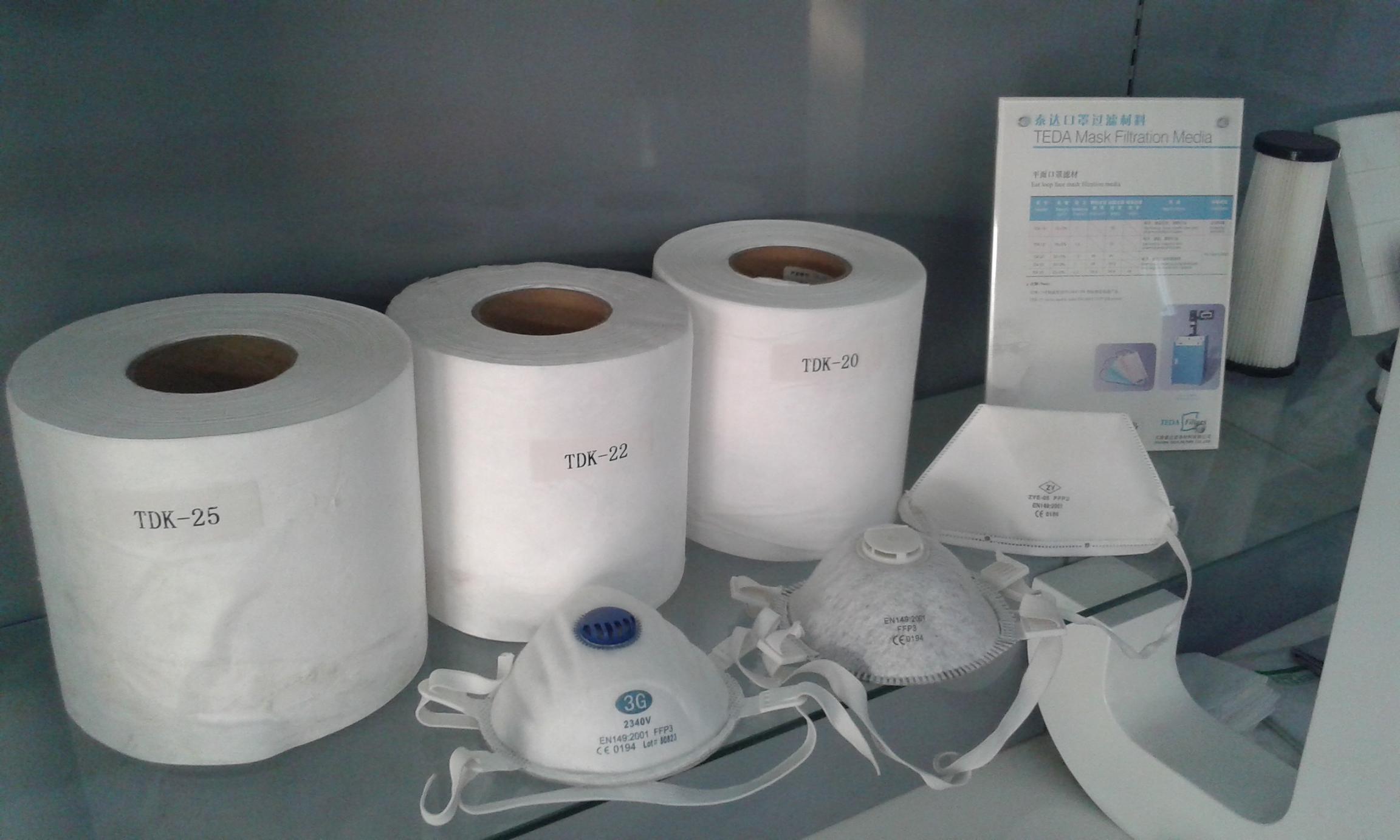 Nonwoven Filter Media for Respirator