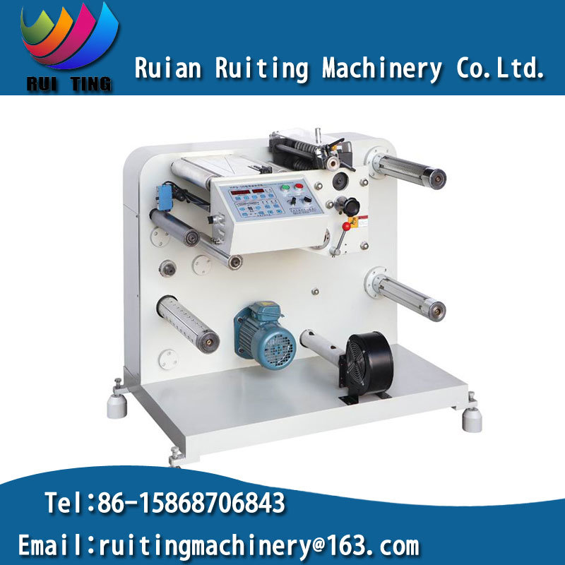 Rtfq-320 Mini. Label Paper Roll Slitting Rewinding Machine