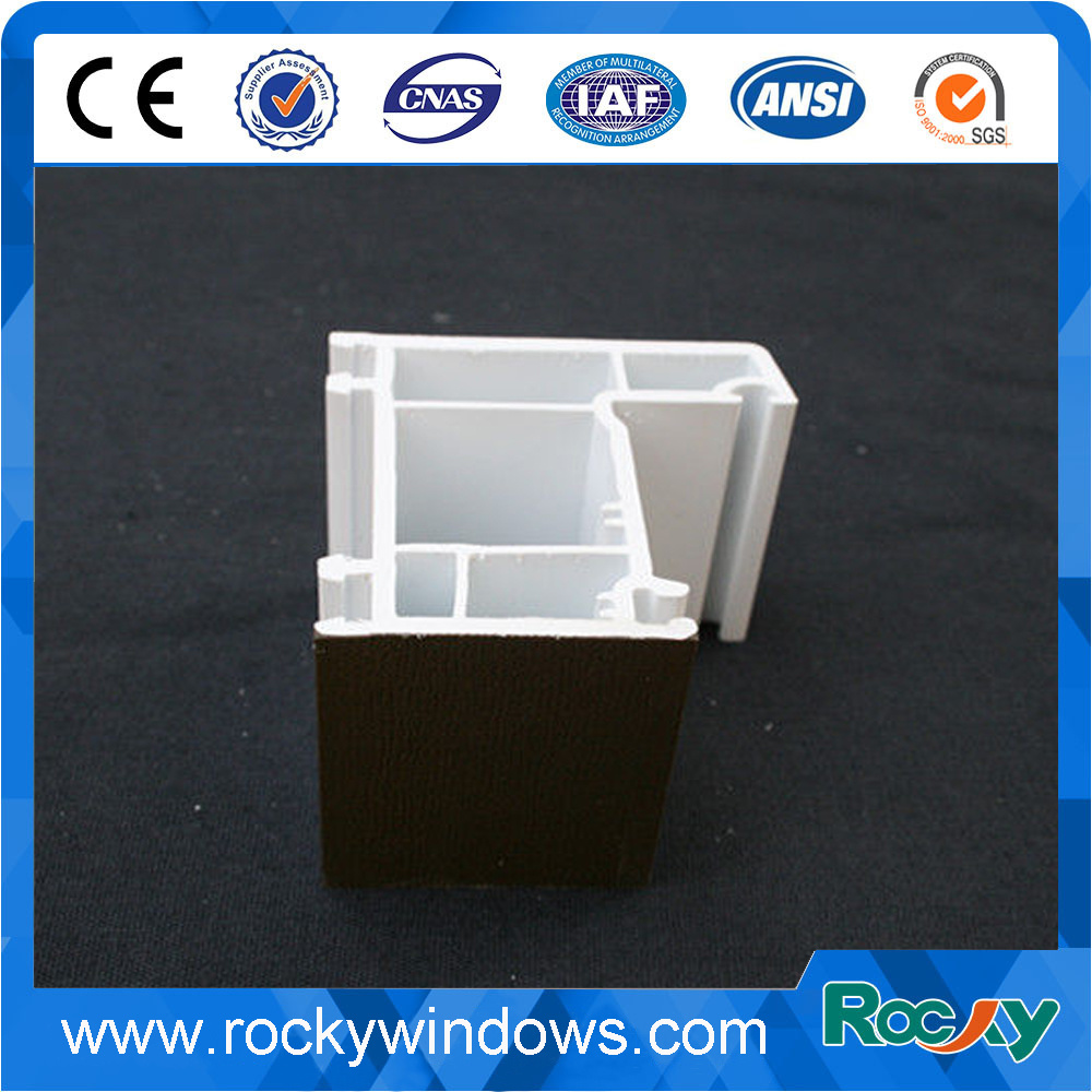UPVC Profiles PVC Profile Laminating for Doors
