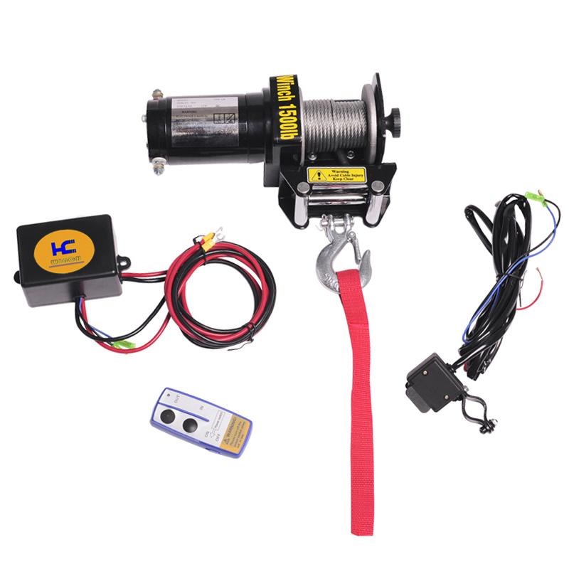 ATV Electric Winch HC1500LBS