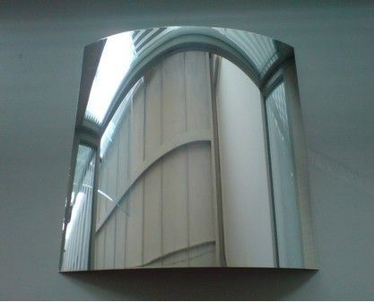 1.1mm-8mm Clear and Colorful Aluminum Mirror, Silver Mirror, Copper Free Mirror, Colored Mirror Glass, Vinyl Backed Safety Mirror for Building