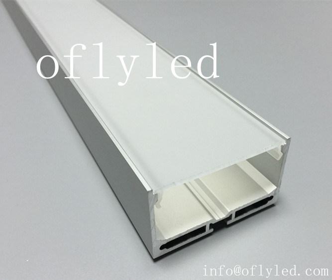 Super 55mm Aluminum Profile for Architectural LED Profile