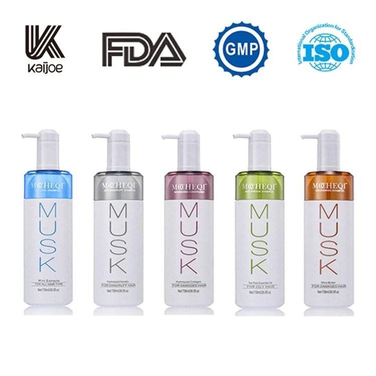 GMPC Certified Green Tea Refreshing Shining Nutrition Hair Shampoo