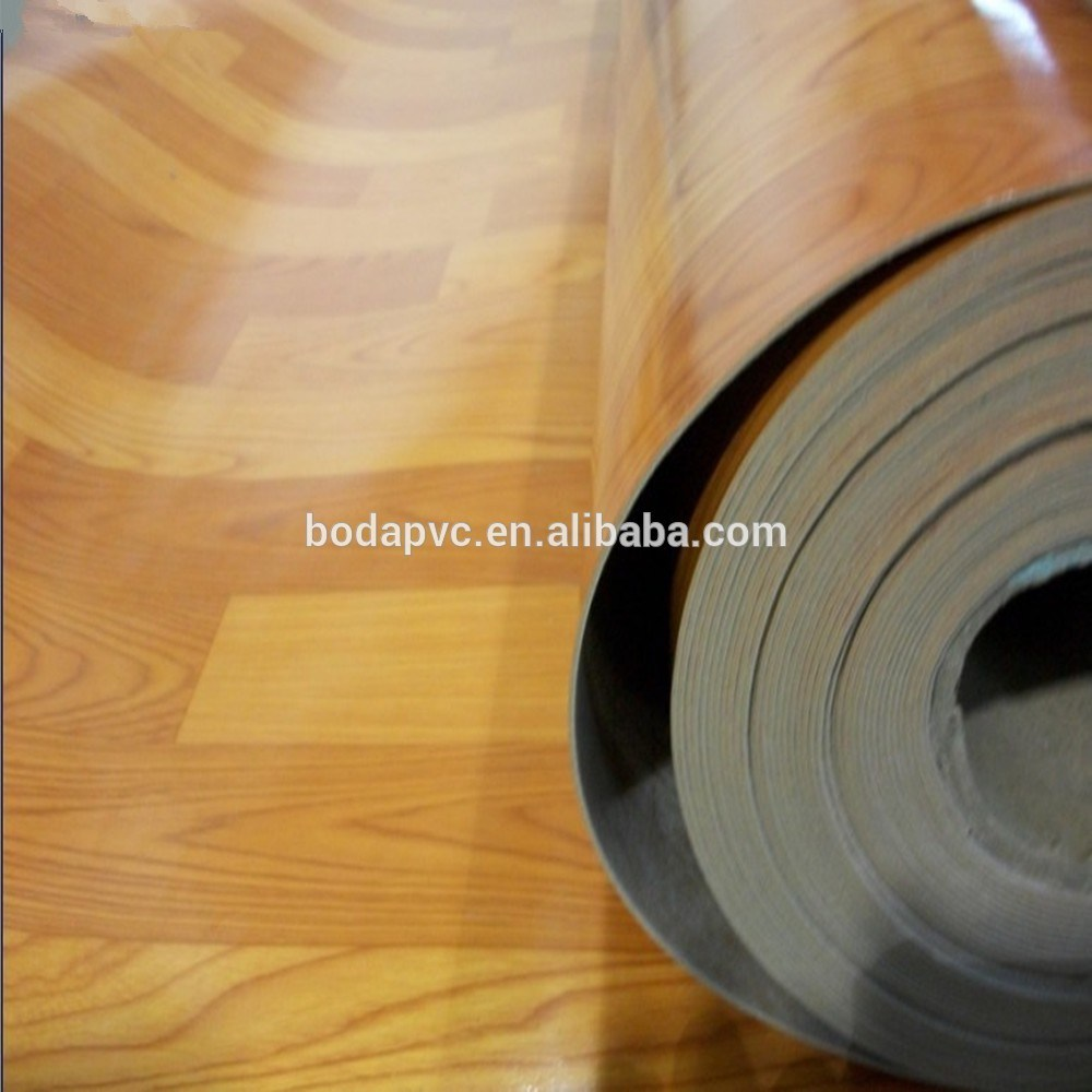 PVC Floor Covering Embossed Surface
