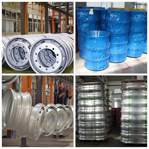 6.00X17.5 6 Hole Steel Wheels