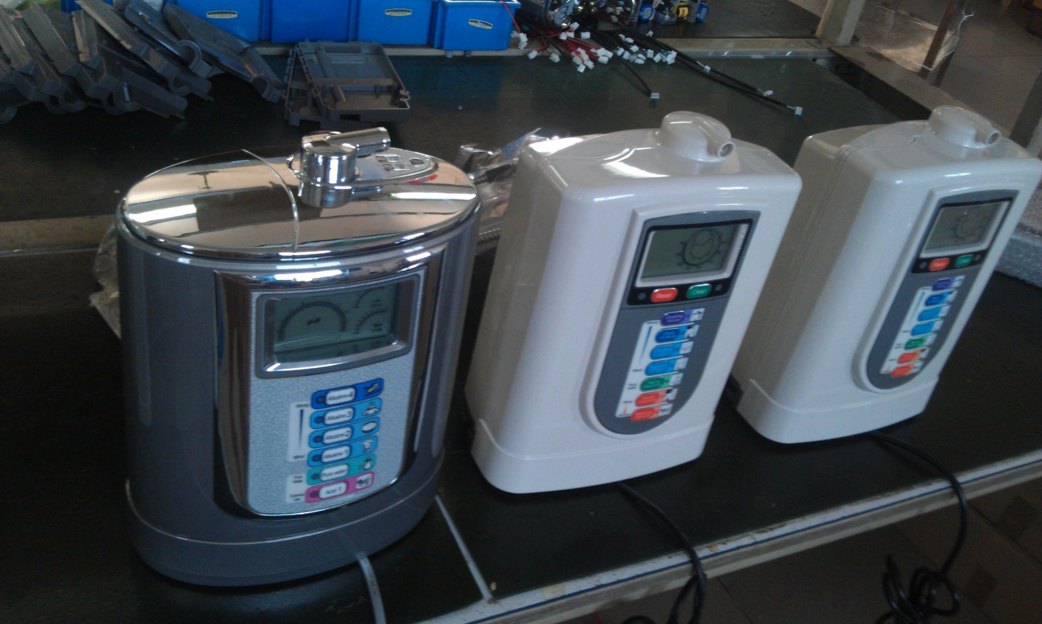 Commercial Alkaline Water Ionizer (Japan Tech, Taiwan factory) +Inner Filter+PH/ORP Live Show+3Stages Prefilter