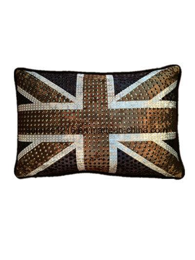Decorative Cushion Sr-C170213-1 High Fashion Metaled Velvet Cushion