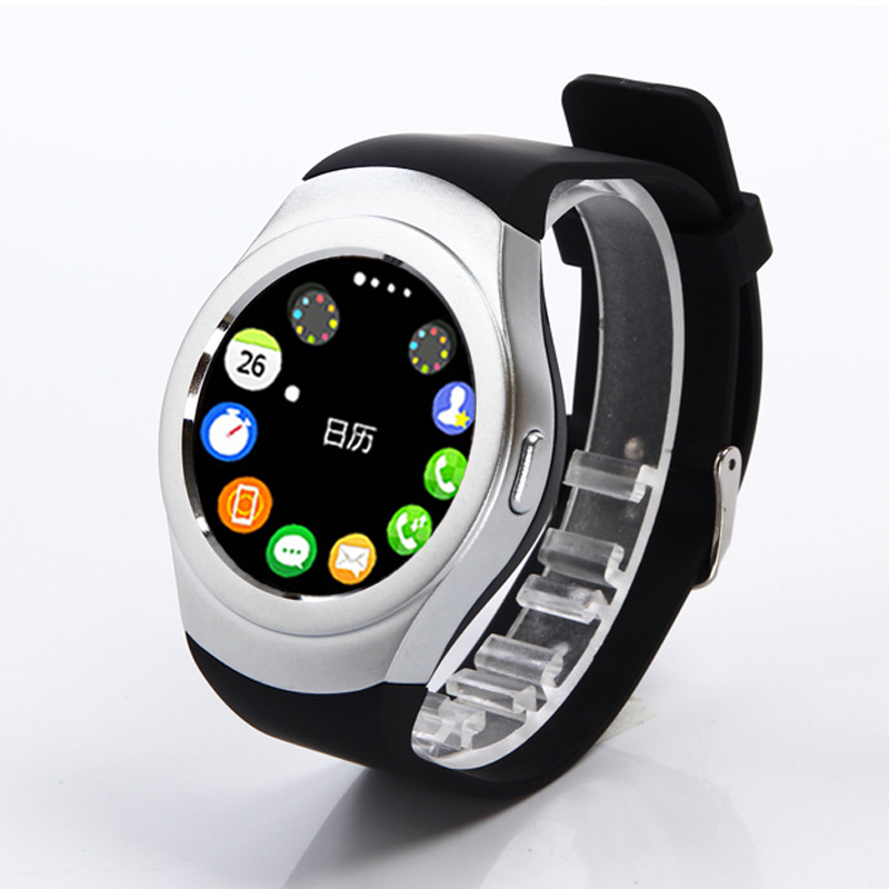 Support SIM Card K8 Smart Watch for Android 4.4 System