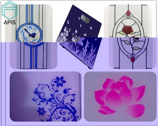 Screen Printing Glass, Ceramic Frit Glass, Enamel Glass, Decorative Glass