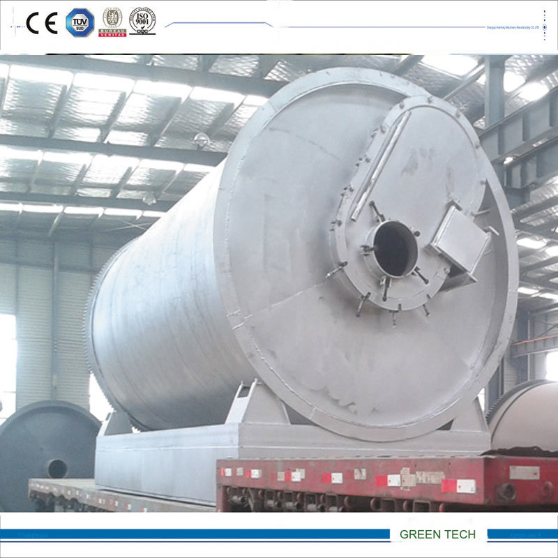 Waste Plastic Regenerate to Oil Pyrolysis Machine 15ton