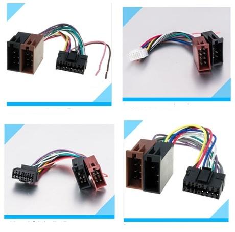 Automobile Car Pioneer/Jvc/for Sony/Alpine Audio Wire Harness