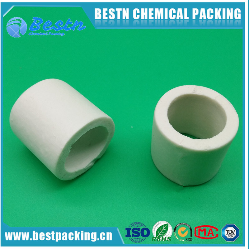 Ceramic Raschig Ring Packing in Excellent Acid and Heat Resistance