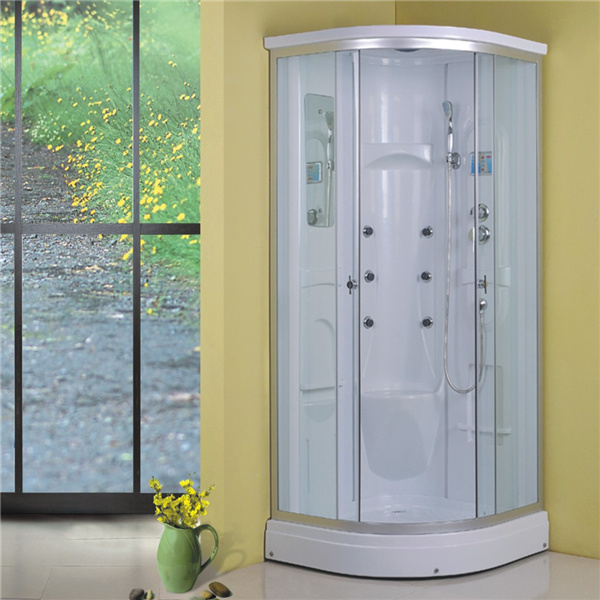 Corner Design White 90X90 Shower Cabin Cheap