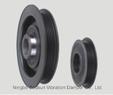 Torsional Vibration Damper / Crankshaft Pulley for Opel 5614437