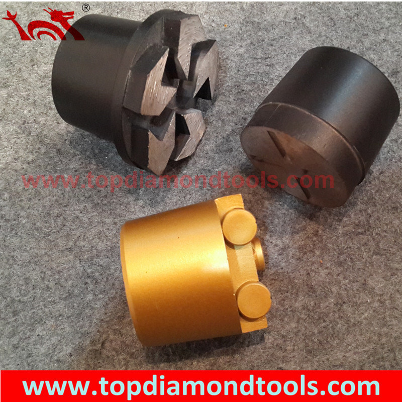Diamond and PCD Grinding Plug for Concrete Floor