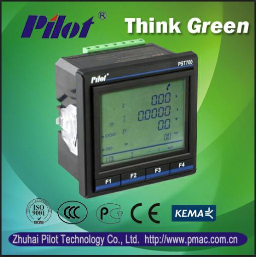 Multifunction Panel Meter : China pmac multifunction power meter panel kwh