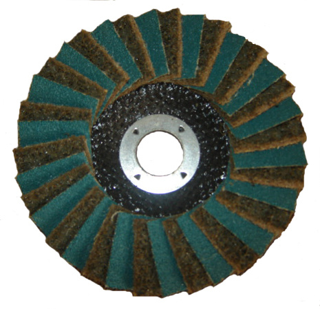 Non Woven Flap Disc Interleaf Abrasive Cloth