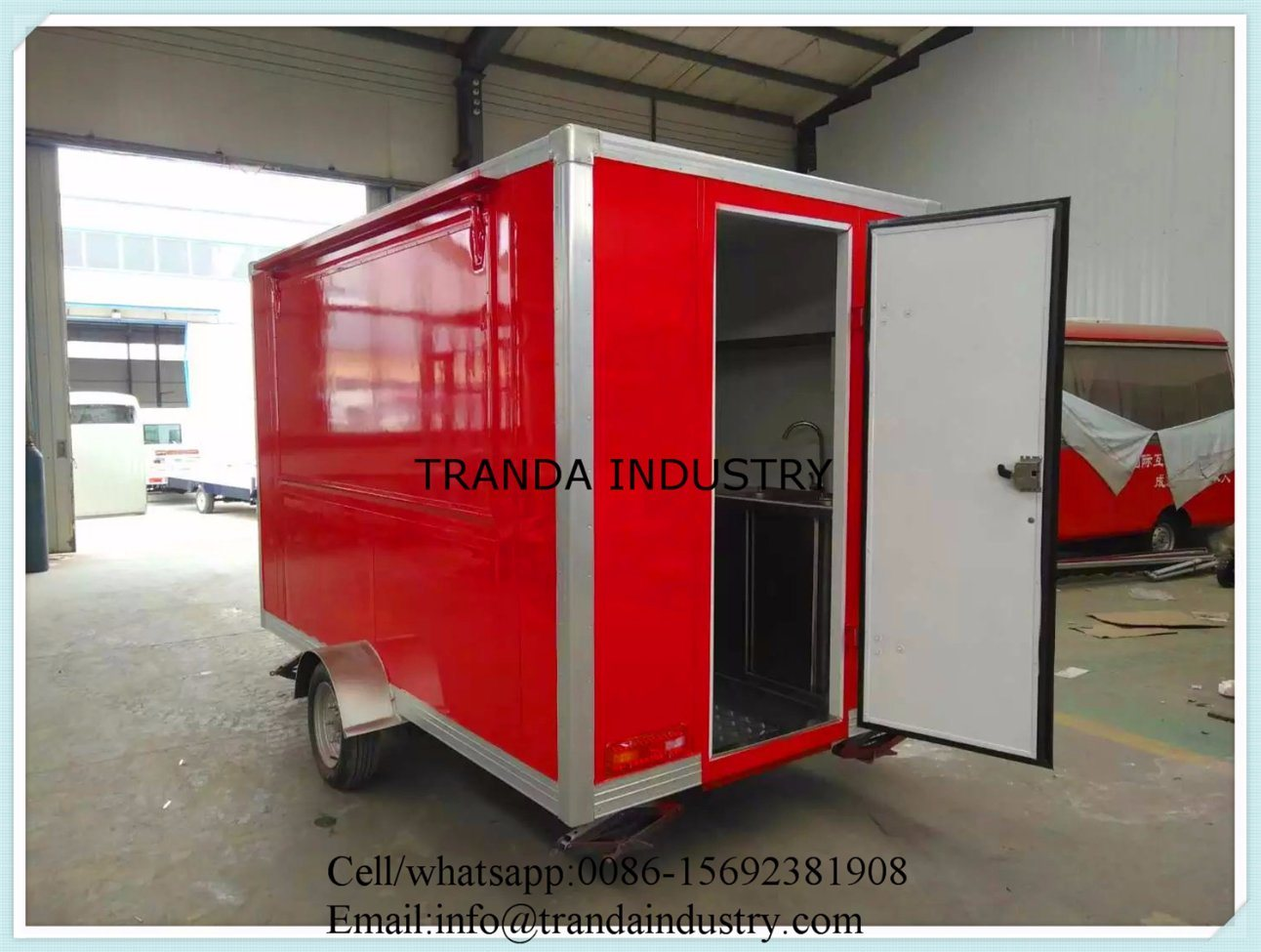 New Style Food Catering Trailer