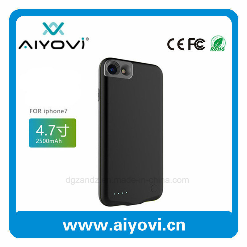 Wholesale Rechargeable External Power Battery Case for iPhone 7