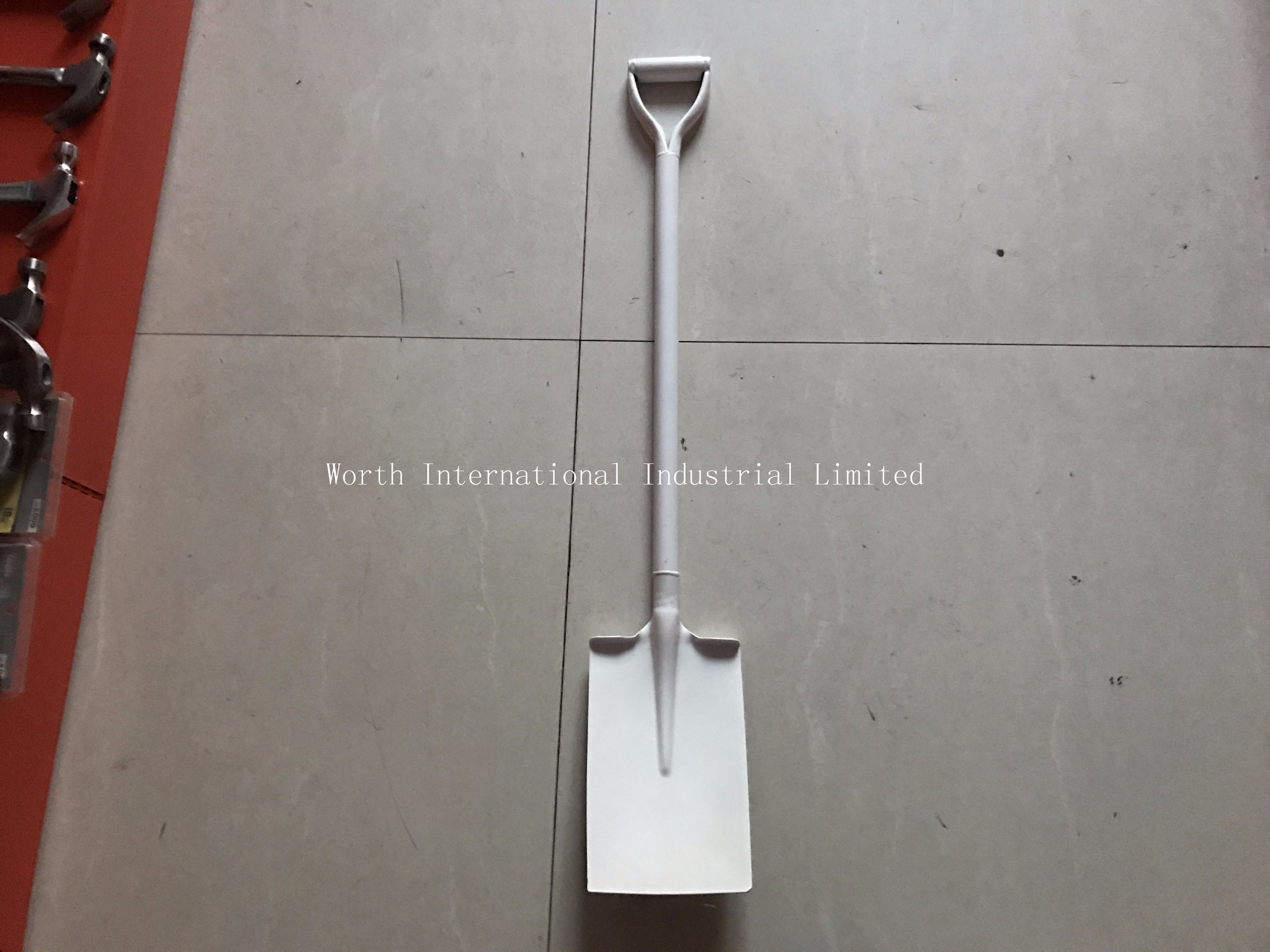 Steel D Grip Steel Handle Shovel