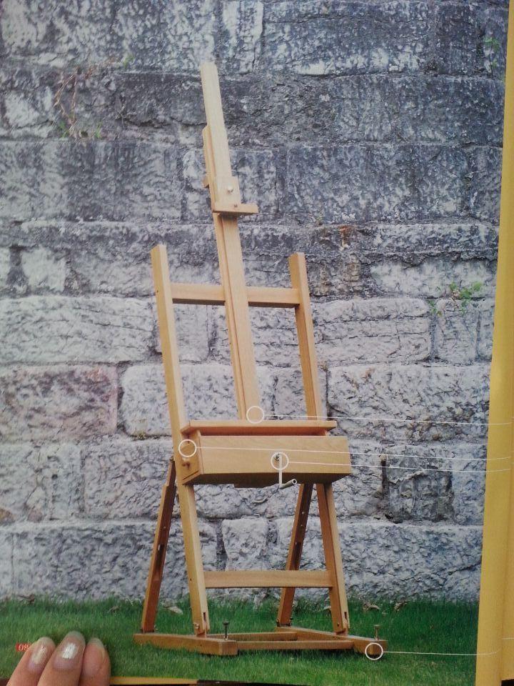 Wooden Single Level Easel (W15)