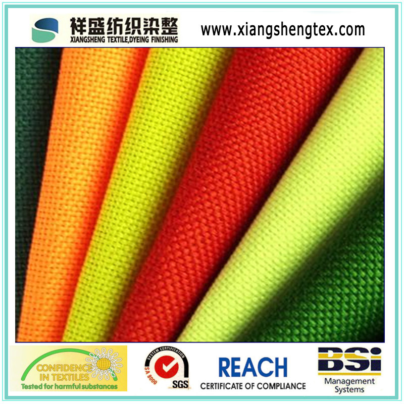 Oxford Fabric with PVC or PU-Coated for Bags and Luggage