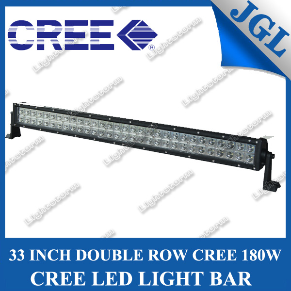 Energy Saving 180W 33 Inch off Road CREE LED Work Light Bar, High Power LED Driving Lights Car Roof Bar with CE & RoHS Certification