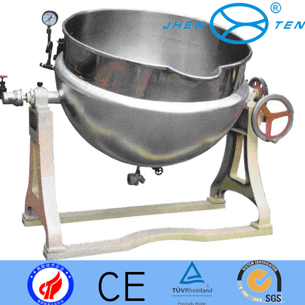 Steam Jacket Kettle (Stainless steel) with Ss304 Ss316
