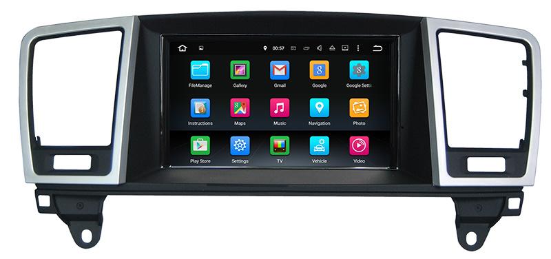 Anti-Glare Car Radio GPS for Mercedes Benz Ml / Gl with Carplay
