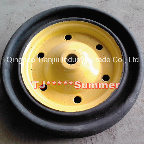 South Africa Model Solid Rubber Wheel 13X3 for Wheelbarrow