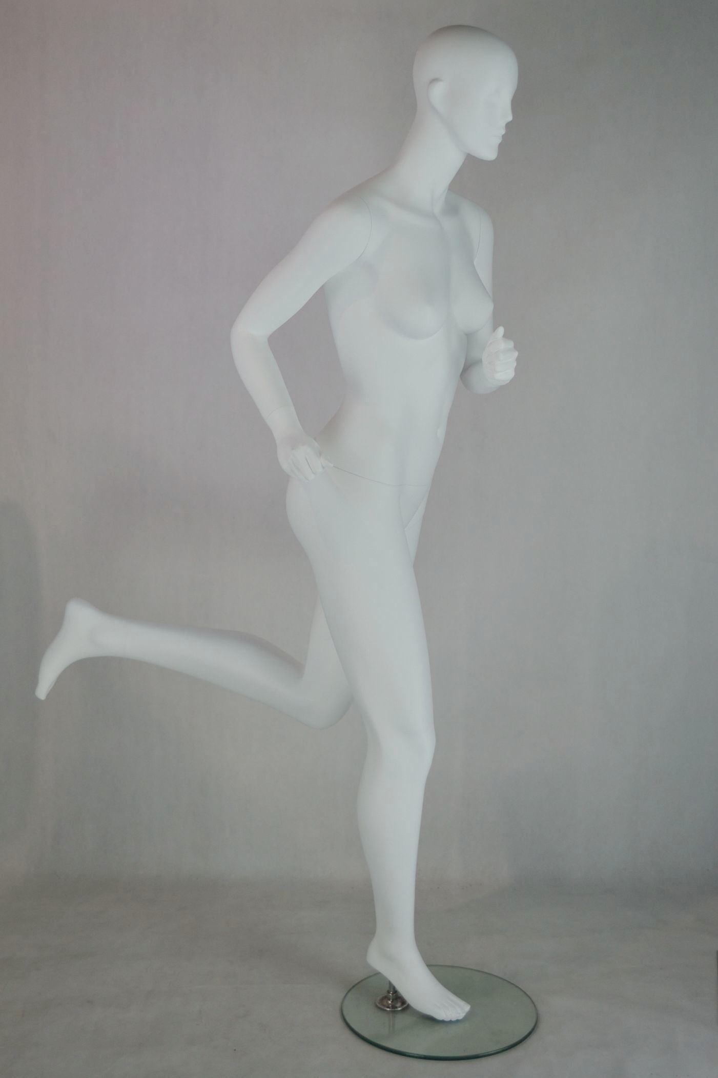 Fiberglass Running Mannequin
