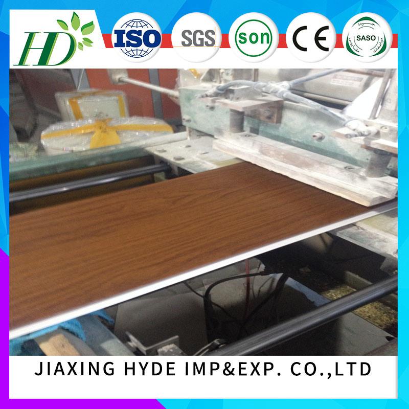 250mm Width Groove Lamination PVC Panel PVC Ceiling PVC Wall Panel Decoration Waterproof Panel