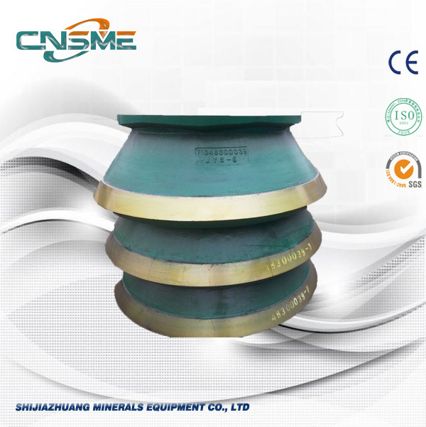 Cone Crusher Spare Parts High Manganese Bowl Liner