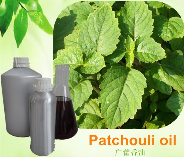 100% Pure Patchouli Essential Oil for Cosmetics and Beauty Care