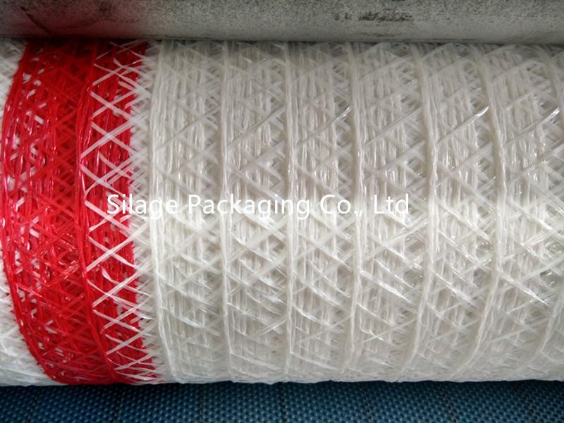 HDPE Thread Knitted Hay Bale Net Silage Wrap Siatka Rolnicza Do Bel Do Polska