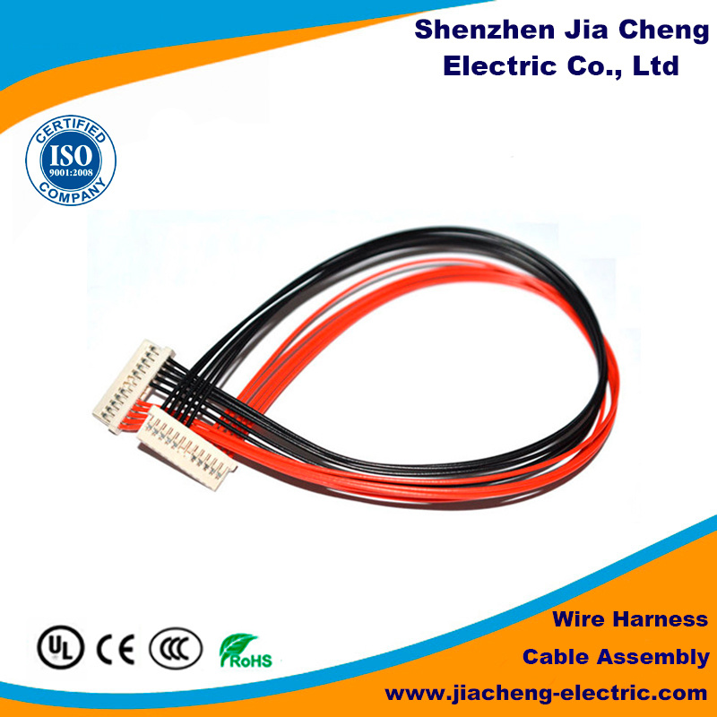 Blue Color 8 Pin Connector Shrink Tube for Medical Wire Harness