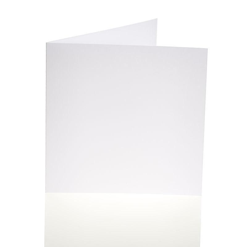 "Blank Greeting Card, 6 X 6"", White 10pk"